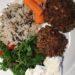 Nemme og sprøde vegetar frikadeller med tilbehør