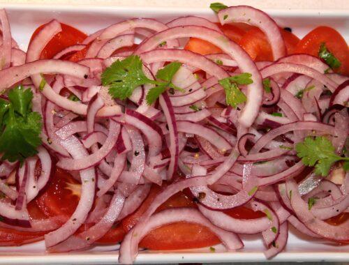 Skøn indisk inspireret salat