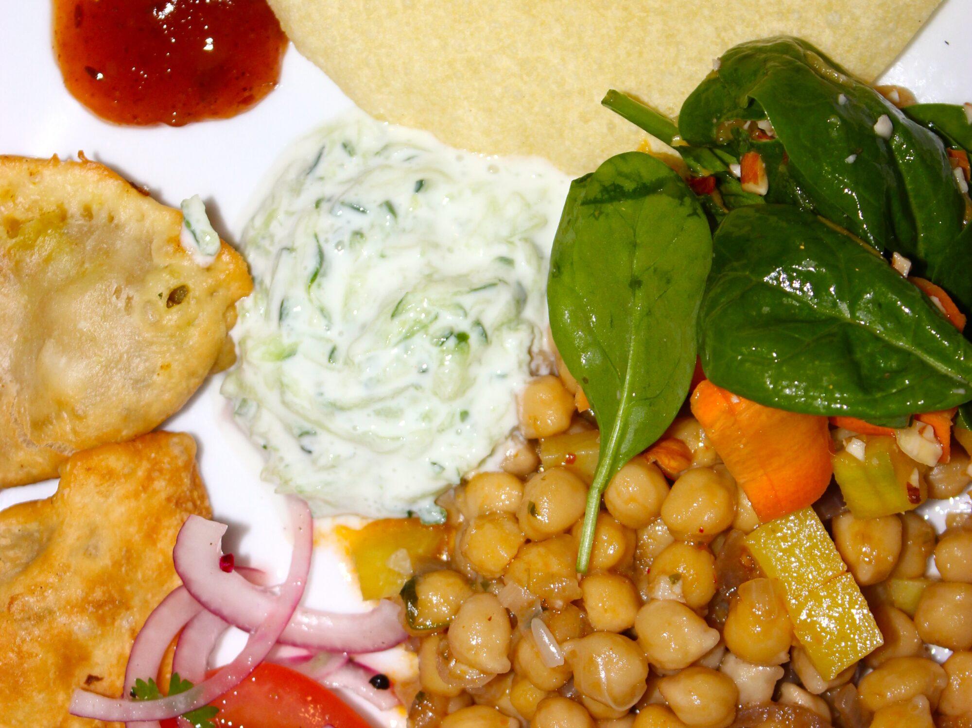 indisk menu