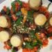 Salat med gedeost