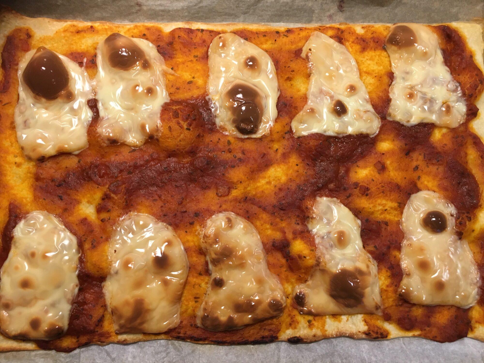 Spøgelses pizza