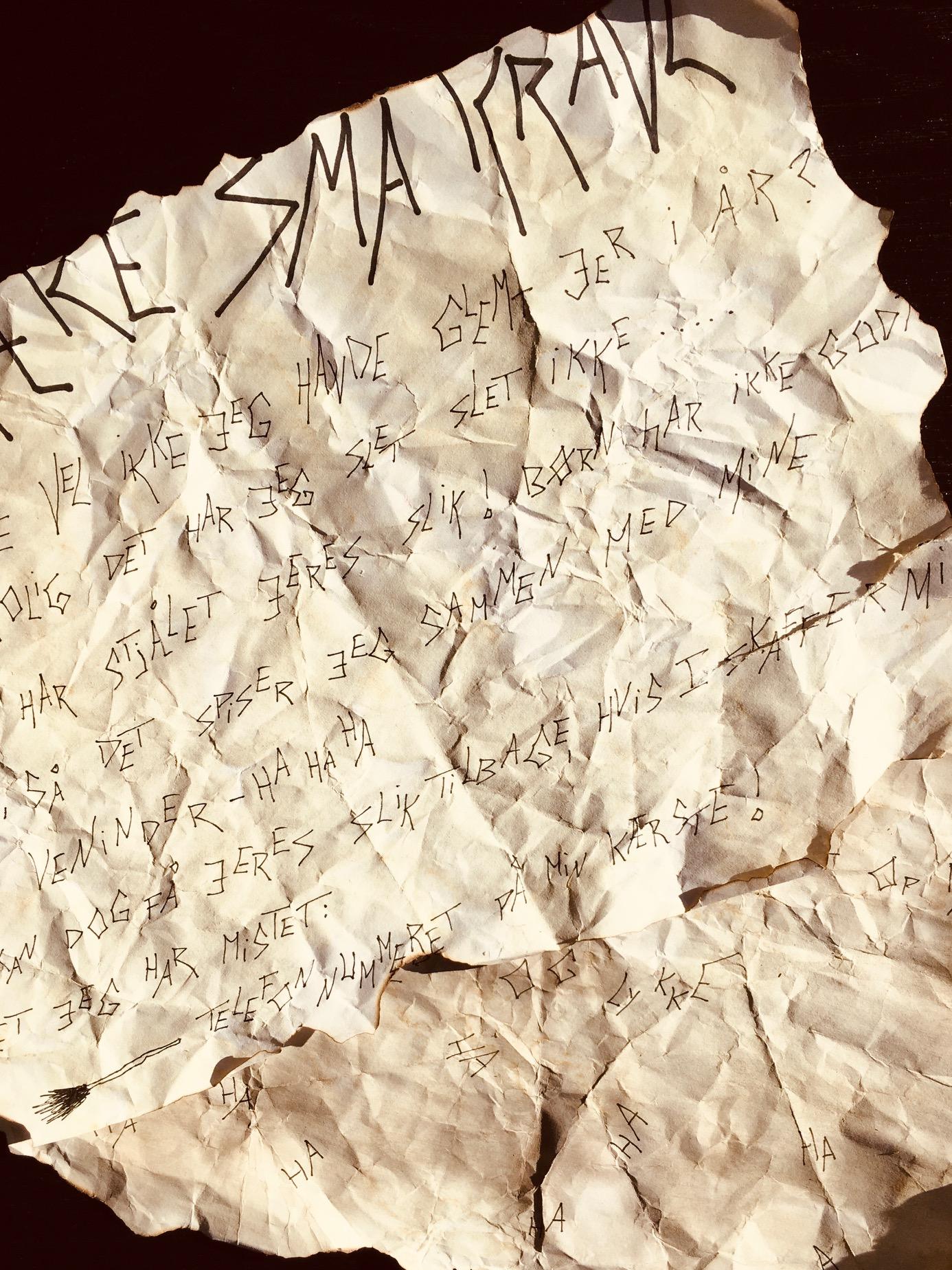 Heksen Hannes brev