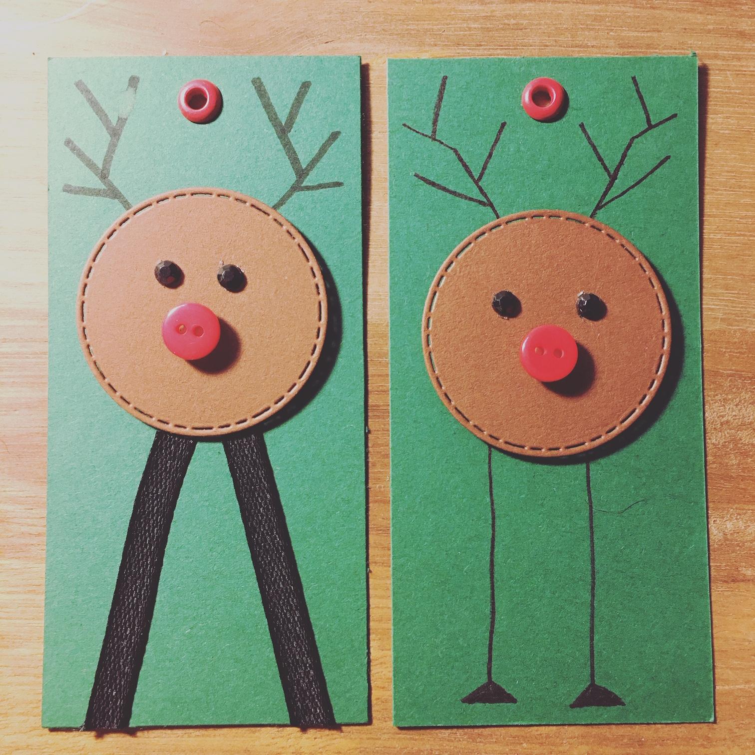 Rudolf i to udgaver
