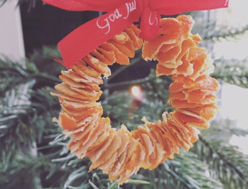 Julepynt af clemtin skræller