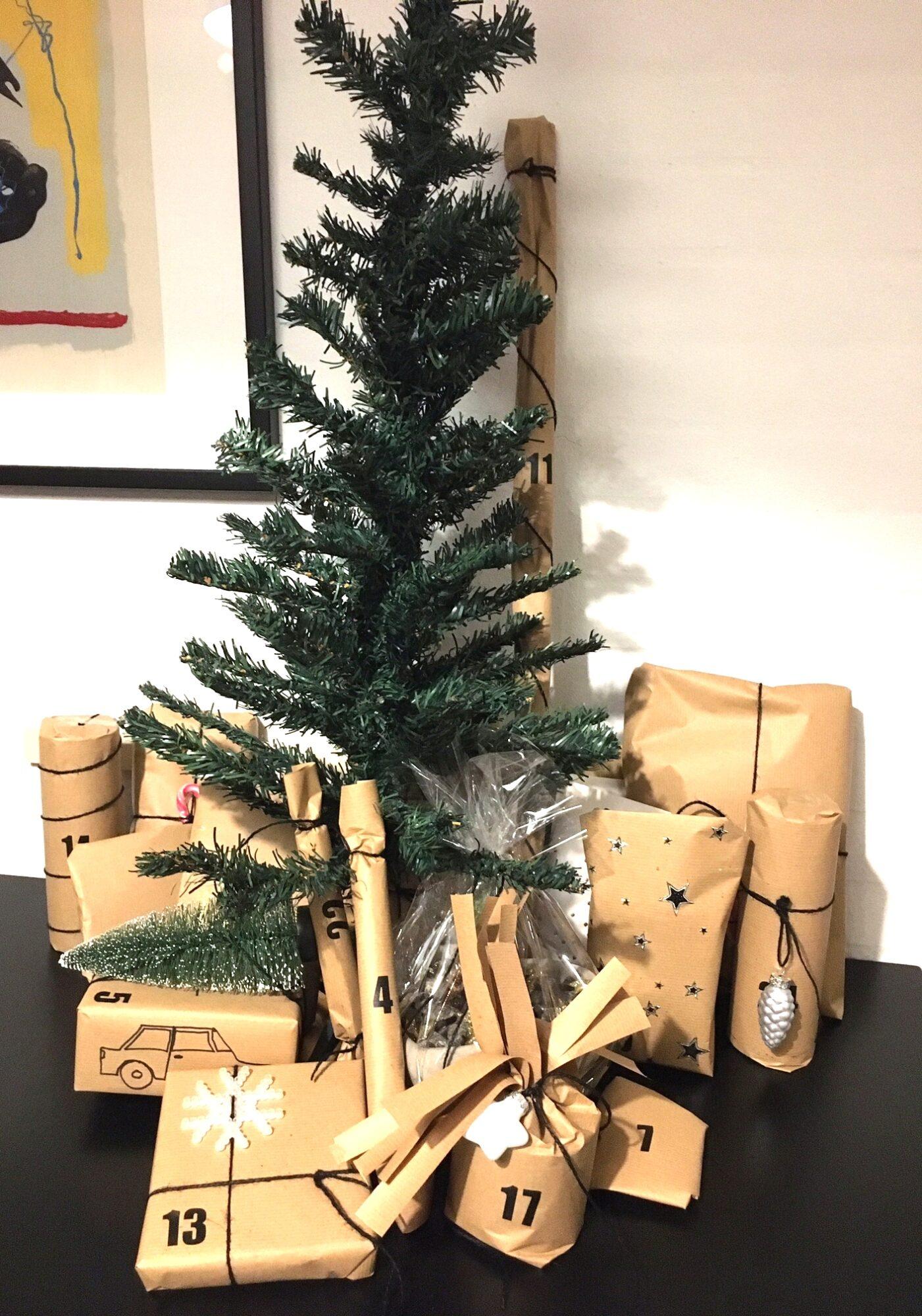 Juletræspakkekalender