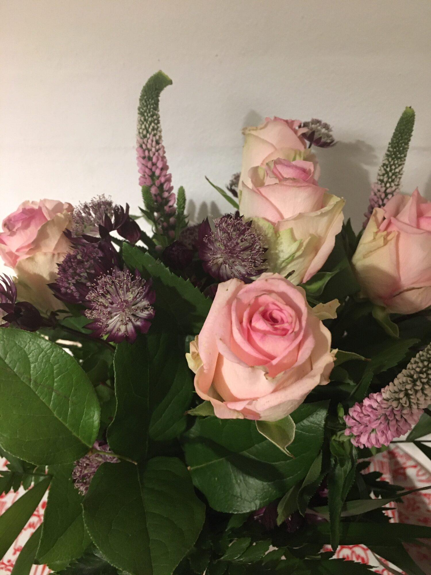 Fødselsdags blomster