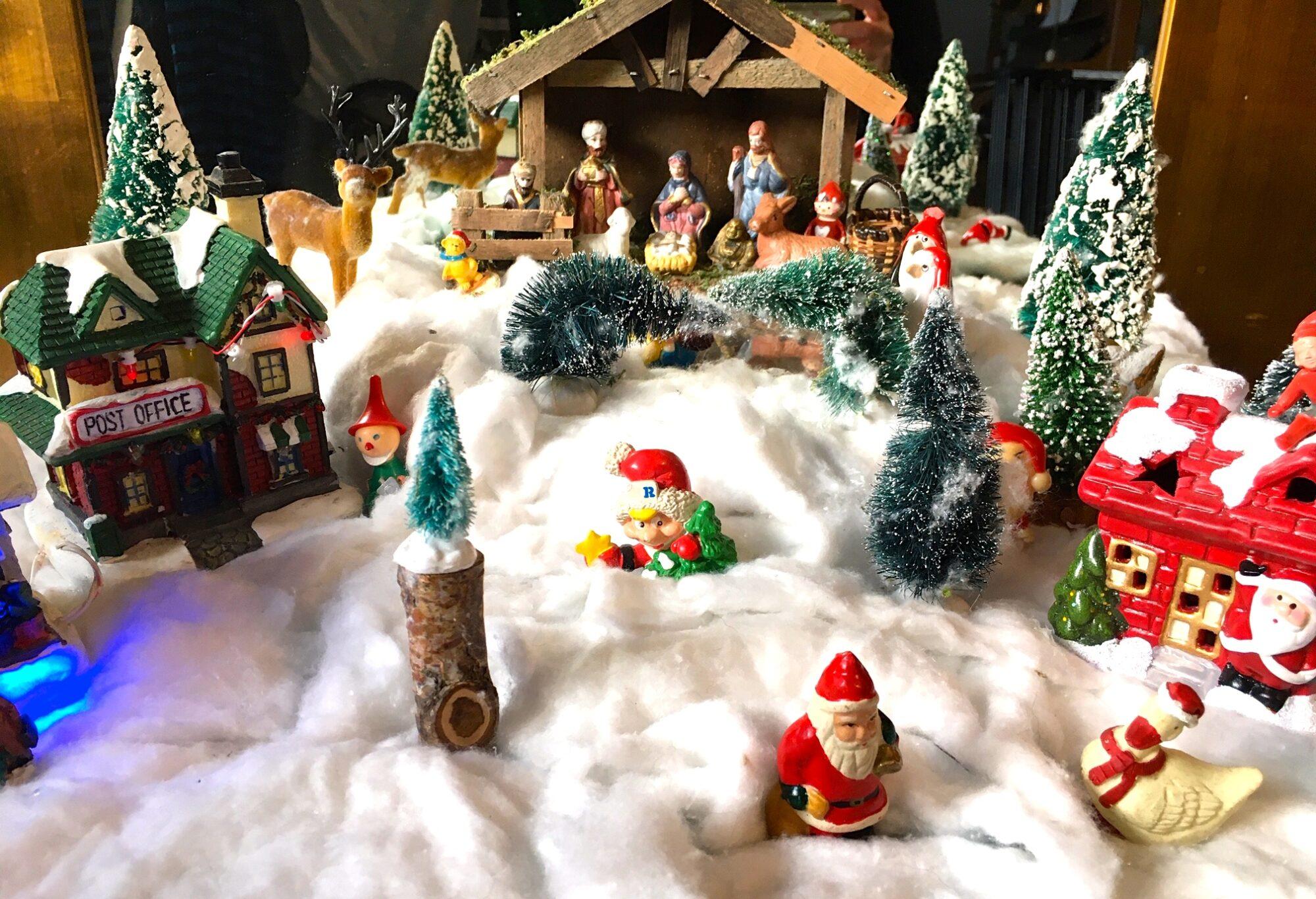 Den meget rummelige julelandsby