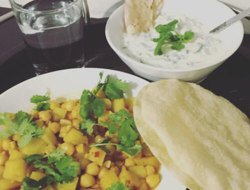 Curry med kikærter