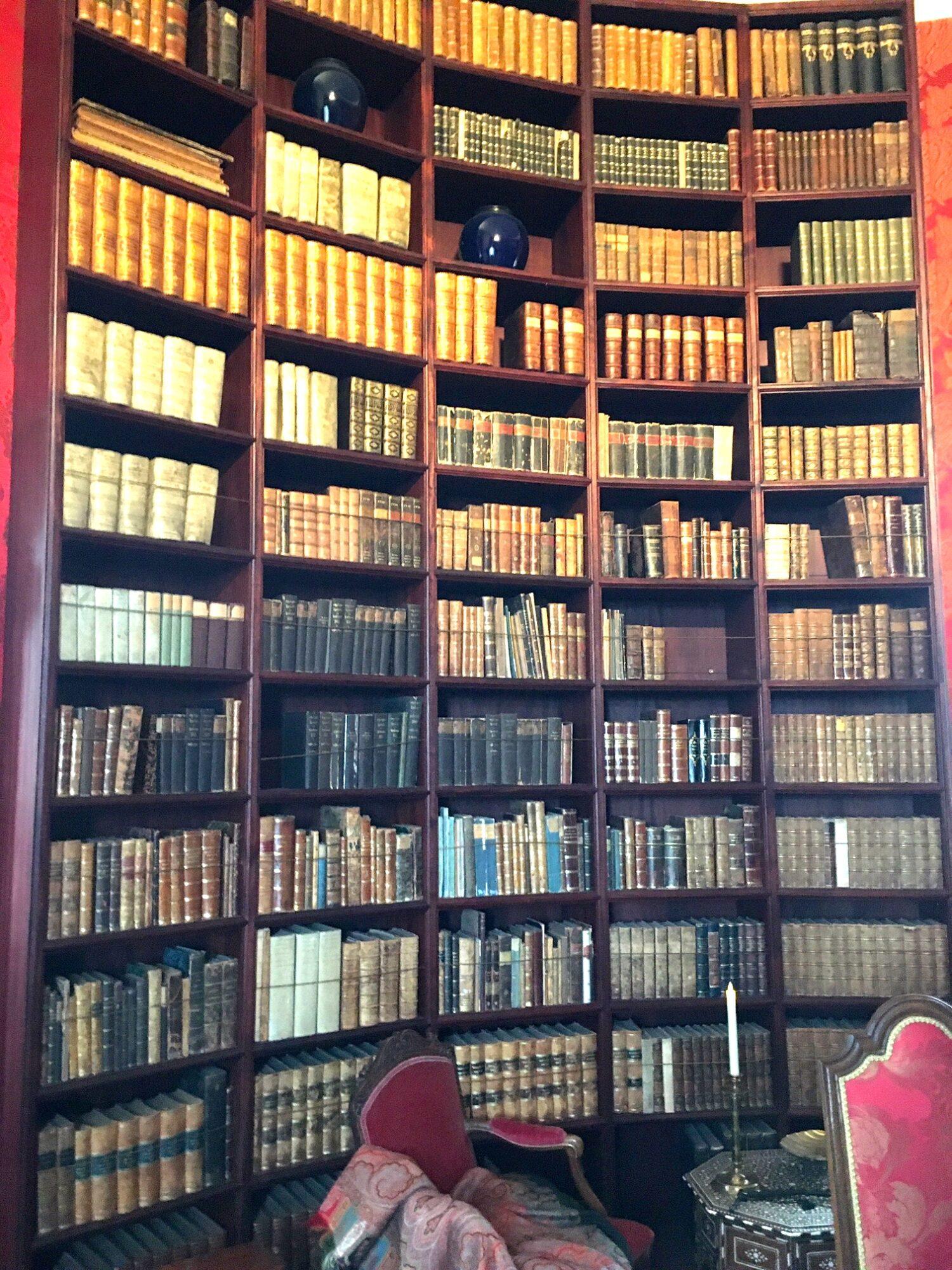 Biblioteket på Gammel Estrup